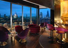 The Mondrian London. Morgans Hotel Group. Design by Tom Dixon Studio