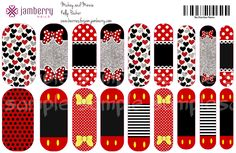 *Spring Break Sale!* $20 Minnie and Mickey Disney Jamberry Nail wraps. Only available to order from me, Kelly Packer! Fill out this form and I will get started on it! Here is my form for more info! https://docs.google.com/forms/d/1MZgbcPAyLh9WEz67g7KGIv1zDNt6kfdj2DDT8jlyBGo/viewform?usp=send_form