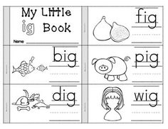 CVC WORD FLIPBOOKS - SHORT VOWEL WORD FAMILIES - 18 CVC Word Flipbooks for a decoding and blending skills. Make for a great home-school connection after introducing it in class.  The 18 Word Families represented are: at, an, ag, ap, ad, et, ed, en, it, in, ig, ot, ox, og, op, ut, ug, un