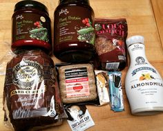 """Got all my shopping done for the week  here are a few things I picked up that I don't normally get and/or I'm excited to try!  I was completely out of protein powder both chocolate and vanilla and Vitamin Shoppe was having a buy 1 get 1 half off deal on their plant based protein """"Plnt"""" This protein is a complete protein I tried a sample before buying and it tasted GREAT just mixed with almond milk. One downfall is that it does have 7g carbs in 1 scoop and 1 scoop chocolate has 18g protein 1…"""