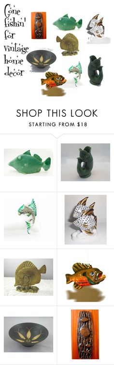 """""""Gone Fishin' ..."""" by howard-lincoln on Polyvore featuring interior, interiors, interior design, home, home decor and interior decorating"""