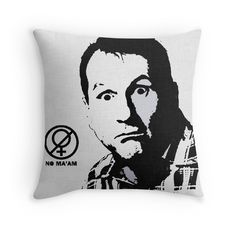 """""""Al Bundy, No ma'am Classic, Married with Children"""" Throw Pillows by cool-shirts 