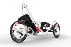 Chiseled Gran Turismo Recumbent Tricycle is fun to ride