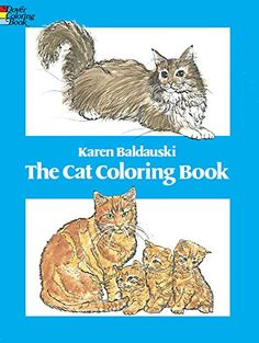 The Cat Coloring Book Dover Nature By Karen Baldauski