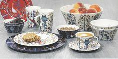 Fabryka Form - Filiżanka do cappuccino Taika niebieska - Iittala White Dinnerware, Mid Century Decor, Simple Pleasures, Helsinki, Fine Dining, Scandinavian Design, Kitchenware, Serving Bowls, Ale