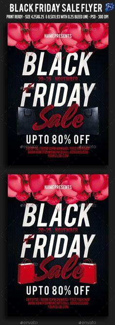 Black Friday Flyer Black friday, Flyer template and Template - black flyer template
