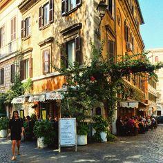 """""""• Osteria Ponte Sisto • """"Roma è la città degli echi, la città delle illusioni, e la città del desiderio."""" (Giotto)   #WWIM12 #meetrome #rsa_streetview…"""""""