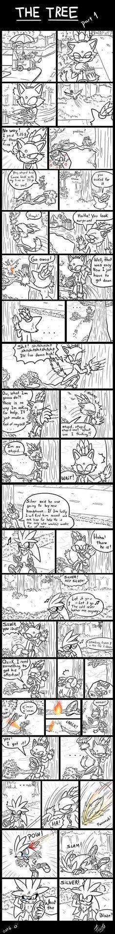 The Tree [Part 2] - (A Silver and Blaze Comic by Fuutachimaru on deviantART.com
