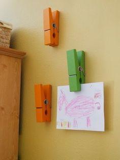 Decor: Great idea for playroom