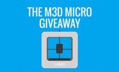 M3D - 3D Printer Giveaway http://printm3d.com/cs?r=EdTa4789 #Giveaway