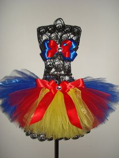 Snow White Tutu Deluxe for baby, toddler, and adult