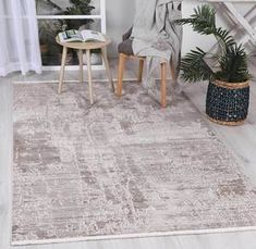 Istanbul Modern Ayla Beige Rug  Pile Height: 5mm Material: 65% Polypropylene,35% Polyester Rug Type: Indoor Easy to clean Style(s): Modern & Contemporary Pattern(s):Vintage, Modern