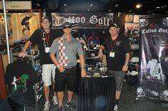 Hanging at the PGA show in Orlando