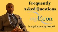 myEcon Frequently Ask Questions - Is myEcon a Pyramid Scheme?