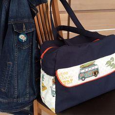 ammikado Sur le départ... avec mon sac façon 70s' fait main. . #cousette #sacsevoyage #ammikado #70s' #madeinbreizh #sacotin #sea #sun #unehirondellefaitleprintemps