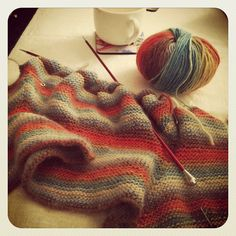 Favourite 'go to' pattern - Baby Surprise Jacket.  Favourite needles - Signature.  Yummy yarn - Knit Picks Chroma worsted.