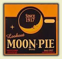 you have to eat your moon pie and wash it down with your RC cola, they have a festival for this! REal life!