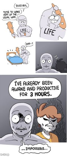 Explore the latest collection of 43 random comics and funny memes that brighten up your mood today. These funny comics memes photos will make your day lol. Shen Comics, Owlturd Comics, Funny Comics, Life Comics, Stupid Funny, Funny Cute, The Funny, Funny Jokes, Funny Stuff