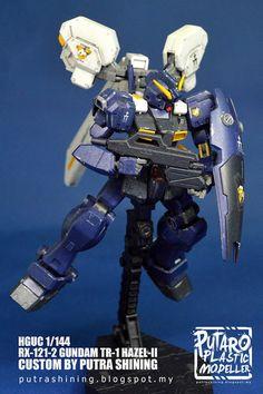 HGUC 1/144 RX-121-2 Gundam TR-1 Hazel-II Custom Paint by Putra Shining