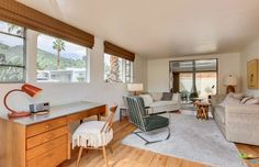 Darling '50s trailer home in Palm Springs can be yours for $55K - Curbedclockmenumore-arrow : Mint-green, midcentury, and (once) mobile? Yes, please!