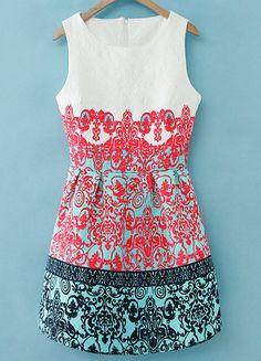 robe ornée de broderie à motif floral  18.39