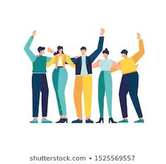 Stock Photo and Image Portfolio by Viktoria Kurpas Character Flat Design, People Hugging, Happy Friendship Day, Group Of Friends, Special Events, Royalty Free Stock Photos, Illustration, Image, Happy Friends Day