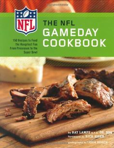 """The NFL Gameday Cookbook by Ray """"DR. BBQ"""" Lampe http://www.amazon.com/dp/0811863956/ref=cm_sw_r_pi_dp_s0BStb1WP8N1H841"""