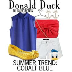 Donald Duck Trend, created by lalakay on Polyvore