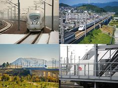 Slideshow : Five cool bullet trains - Five cool bullet train networks in the world | The Economic Times