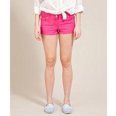 pink short shorts!