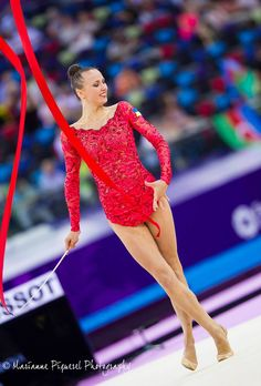 Ganna Rizatdinova (Ukraine) won bronze in ribbon at World Cup (Sofia, Bulgaria) 2015