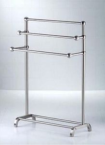 Taymor Towel Stand 3 Tier Deluxe Free Standing In Satin Nickel New Opened. Bathroom  StorageBathroom ...