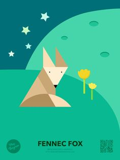 Endangered Animals Education puzzle_fox #playtangram #craft #color #kid