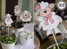 We had the beautiful opportunity to do this magical Little Lamb Baby Shower for a Girl! Beautiful Baby Shower, Lamb, Delicate, Babyshower, Desserts, Gender, Food, Baby Shower, Tailgate Desserts