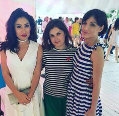 """Наслаждаюсь приятной компанией в одном из своих любимых ресторанов """"Royal bar"""" ⛱. Fashion Summer Award 2016 - глаза радуются! Настроение летнее и погода соответсвует.  #fashiontv #royalbar #olgaberek #лето #fashionsummeraward"""