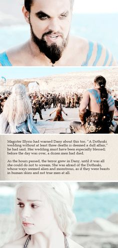 Daenerys Targaryen: I am the blood of the dragon, she told herself again. #got #asoiaf