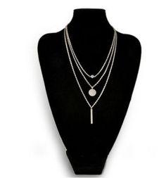 New-Women-Pendant-Gold-Chain-Choker-Chunky-Statement-Bib-Necklace-Jewelry-Charm