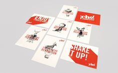 ¡Cho! Brand Identity & Packaging - Blast Design