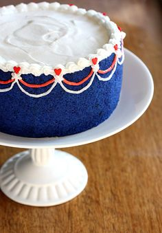 Sweeten up your Fourth of July with Red, White & Blue Jewel Cake
