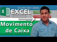 EXCEL  Avançado - Movimento e Fluxo de Caixa - YouTube