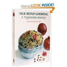 Silk Road Cooking: A Vegetarian Journey (This book tackles recipes following the Silk Road from Asia to the Mediterranean. It's full of rich, delicate and complex flavors.) #vegetarian