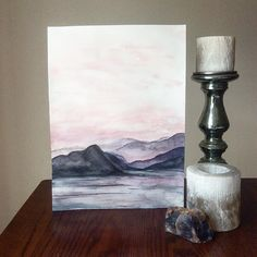 @northerlygoods - Blushing Sky 11x 17 now available.