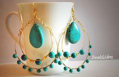 Beads: Un grandissimo cerchio turchese