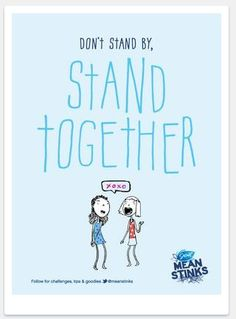 Great website from Secret deodorant to help raise awareness of bullying by girls.