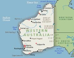 University Of Western Australiathe Most Beautiful Campus Been - Map of western australian towns