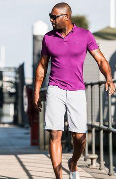 Polo Shirts For Men | Idris Elba + Superdry - shirts, boyfriend, tie dye, summer, floral, jean shirt *ad
