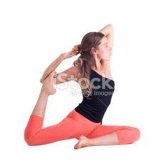 Stock Photo : Woman Practicing Yoga | carla | Pinterest | Fotos ...