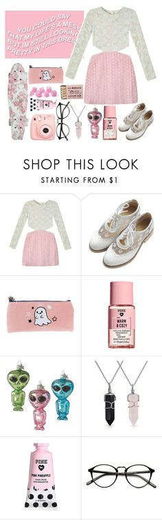 """""""TAG ~ YOU COULD SAY MY LIFE'S A MESS I BUT IM STILL LOOKING PRETTY IN THIS DRESS"""" by artaho-potato ❤ liked on Polyvore featuring Shakuhachi, Victoria's Secret, Bling Jewelry, Polaroid and 238"""