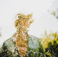 Double Exposure Portraits by Jon Duenas