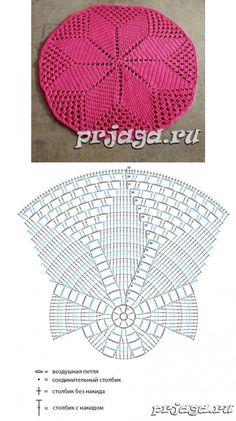 Crochet Yarn Crochet Doilies Scarf Hat Crochet Christmas Origami Crochet Carpet Pinafore Dress Tips Trapper Keeper Crochet Placemats, Crochet Doily Patterns, Crochet Diagram, Crochet Motif, Crochet Doilies, Crochet Yarn, Crochet Stitches, Crochet Carpet, Crochet Home